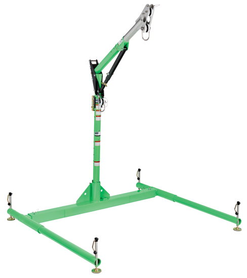 3M | DBI-SALA 5-Piece Davit Hoist System, 23.5 - 42.5 inch Adjustable Offset Mast, 8518040