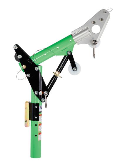11.5 in.-27.5 in. Adjustable Offset Davit Mast, 8518001