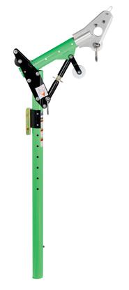 11.5 - 27.5 in. One-Piece Adjustable Offset Davit Mast