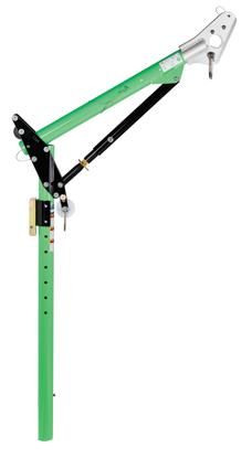 23.5 - 42.5 in. One-Piece Adjustable Offset Davit Mast