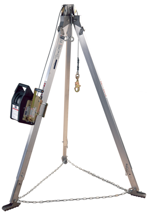 3M | DBI-SALA Confined Space Aluminum Tripod with Salalift II Winch