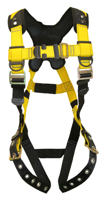 Guardian Series 3 Full-Body Harness, Pass-Through Chest, Tongue-Buckle Legs