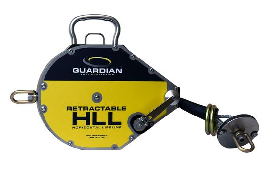 Guardian Retractable Horizontal Lifeline, 60 ft, 04660